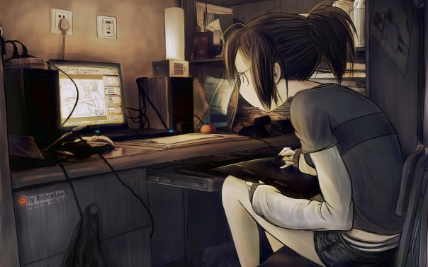 artistic_geek_cgi_soft_shading_anime_girls_meta_otaku_girl_cute_lovely_cg_computer_manga_desktop_1440x900_wallpaper-409063